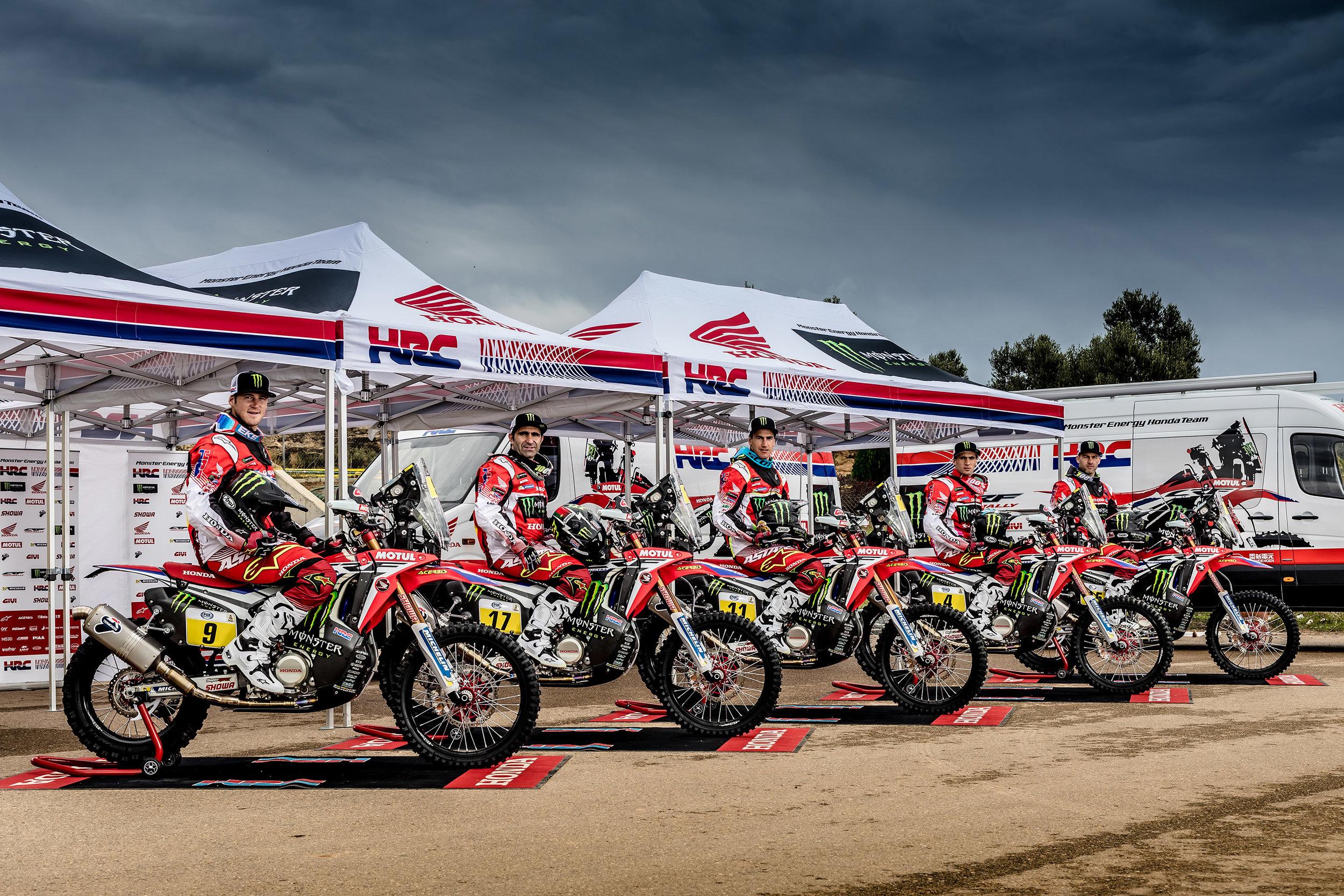 The Monster Energy Honda Team set for Rally Dakar 2017.jpg
