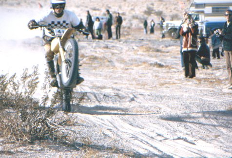 8. Jack Johnson - Jack let everyone know he was a force to be reckoned with when as a huge underdog he and his partner Mark Mason upset mighty Team Husqvarna on a privateer Yamaha at the 1975 Mint 400. He went on to win the Mint 400 back to back in '75 and '76, (4) Cherry Creek Hare and Hounds, (4) Baja 1000s, (2) Baja 500s overall and is still the only rider to solo to victory at the Baja 500 (a feat that will probably never be matched). Along the way Jack won every SCORE event overall on a motorcycle and was one of the most feared riders in the desert. Jack competed well into his late 50's where he still set some of the fastest times in the sections he rode at the Baja 1000. Sheer power and force of will were keys to Jack's success and ultimate entry into the AMA Hall of Fame.