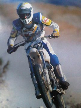 4. Dan Smith - Five straight AMA National H & H championships, outright domination of the D-37 Heavyweight class and numerous overalls in SCORE, HDRA and BITD competition. Dan also won the inaugural Whiskey Pete's World Championship H&H and BtoV, the two biggest desert races of the time. From 1982 to 1989 Dan Smith was undisputed King of the Desert winning a record (59) D-37 desert races overall and (7) #1 Heavyweight plates. Like several on this list Dan came from a desert racing family and his impact on the sport paved the way for future champions like Danny Hamel.