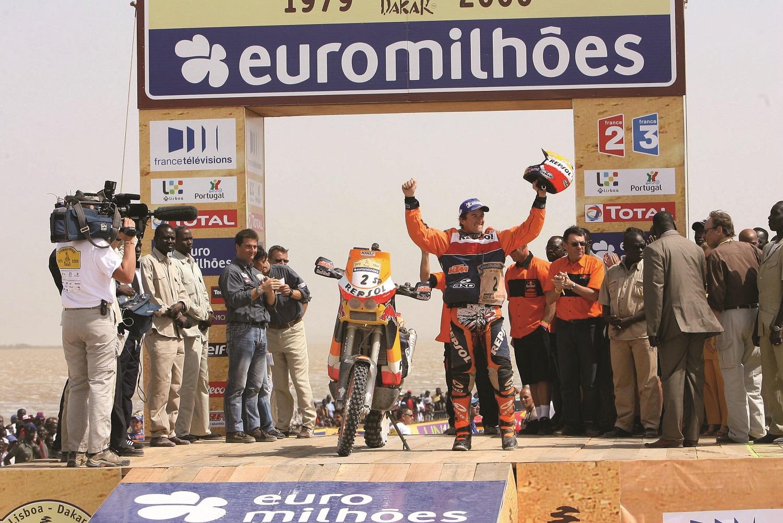 Marc Coma (ESP) Dakar 2015 © KTM