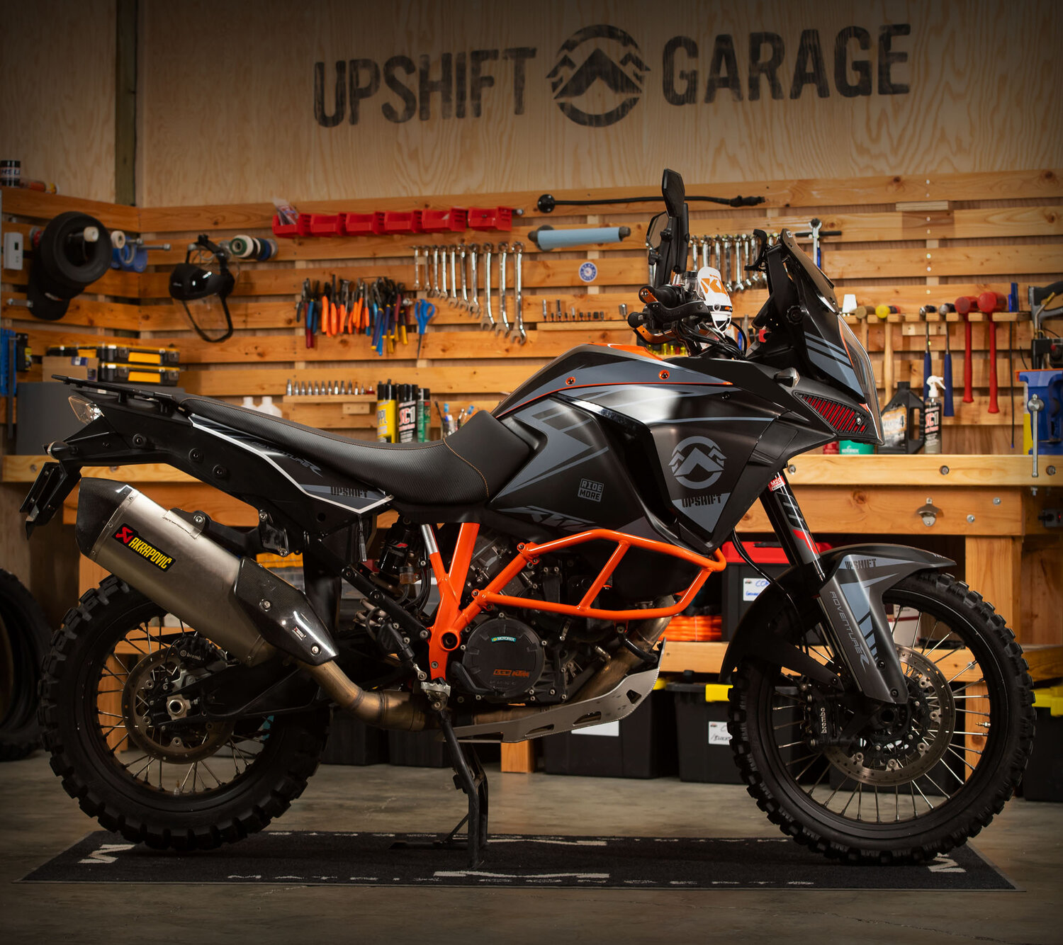 Upshift Ktm 1290 Super Adventure R S Stripes Graphics Kit