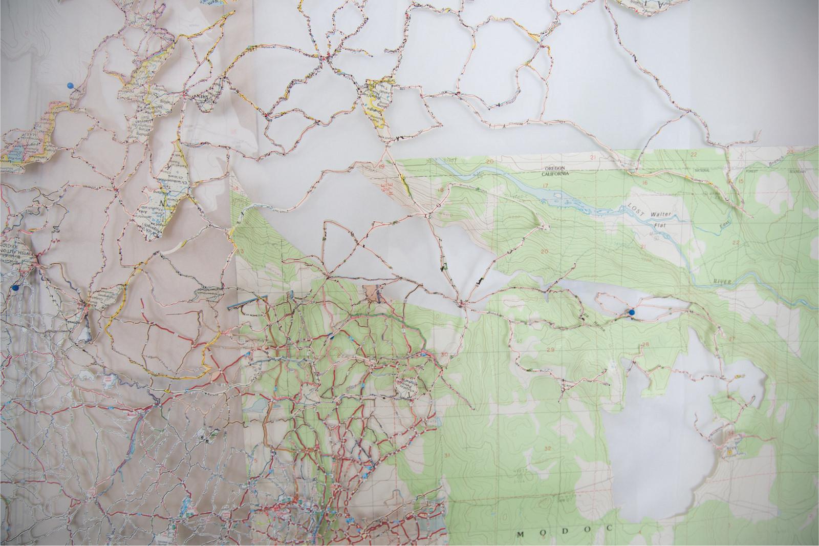 Michelle Daly, Re-imagined Landscape, detail