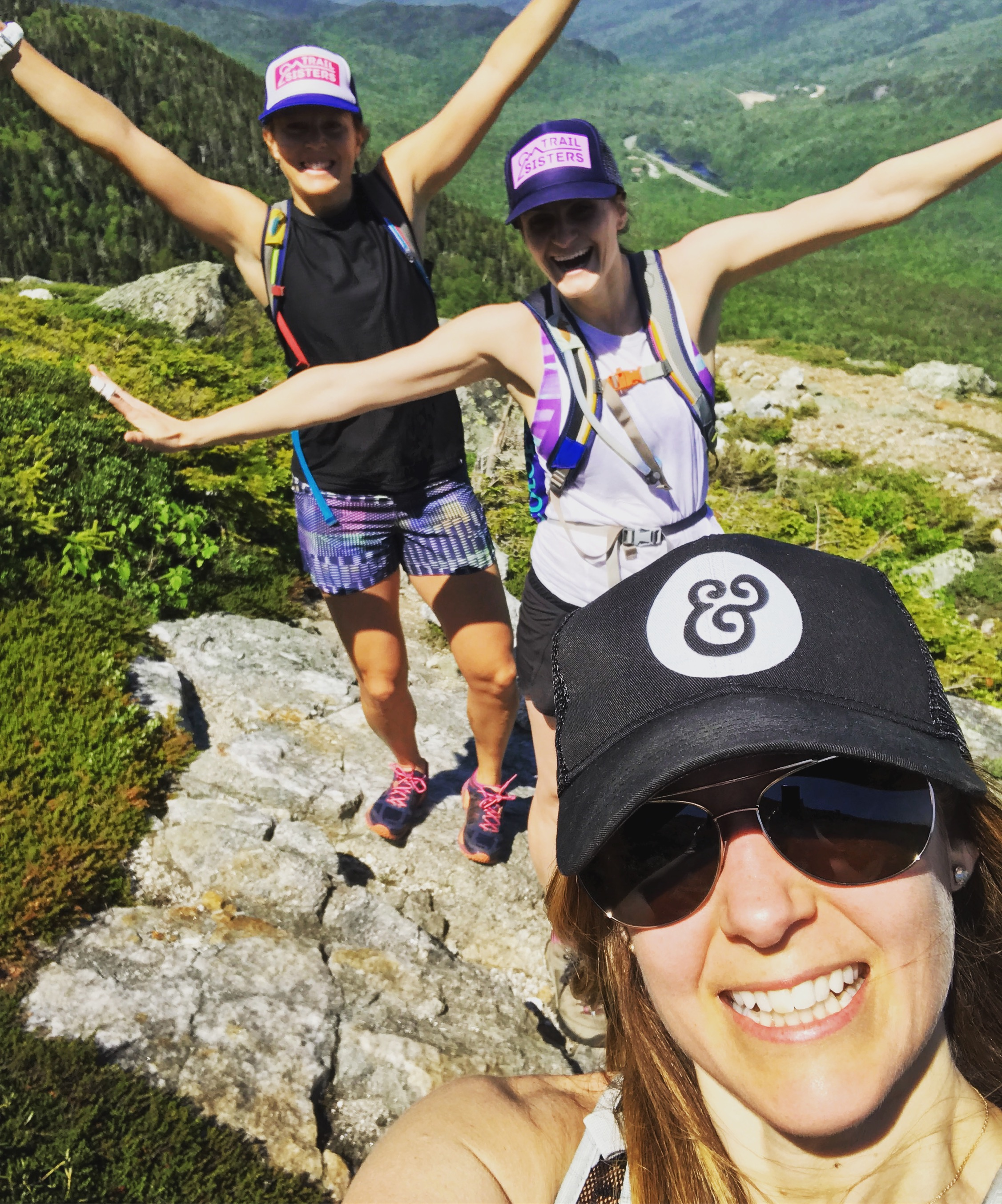 WAL owner Jenn and her adventurous Backcountry Bliss friends!!