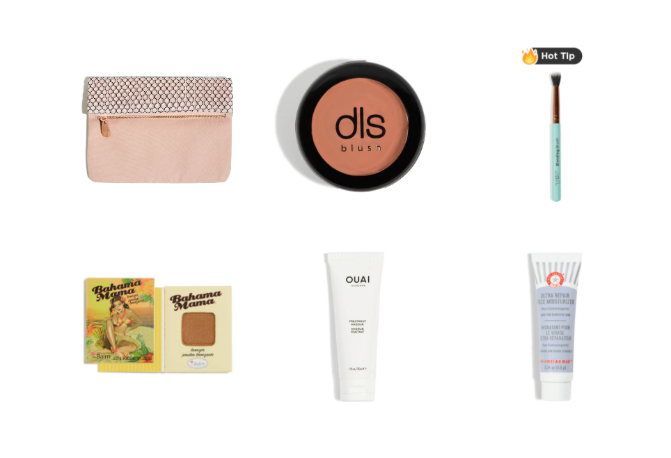IPSY   SPONSORED THIS WEEK'S PRIZE, ONE OF THEIR FAMOUS GLAM BAGS WITH PRODUCTS