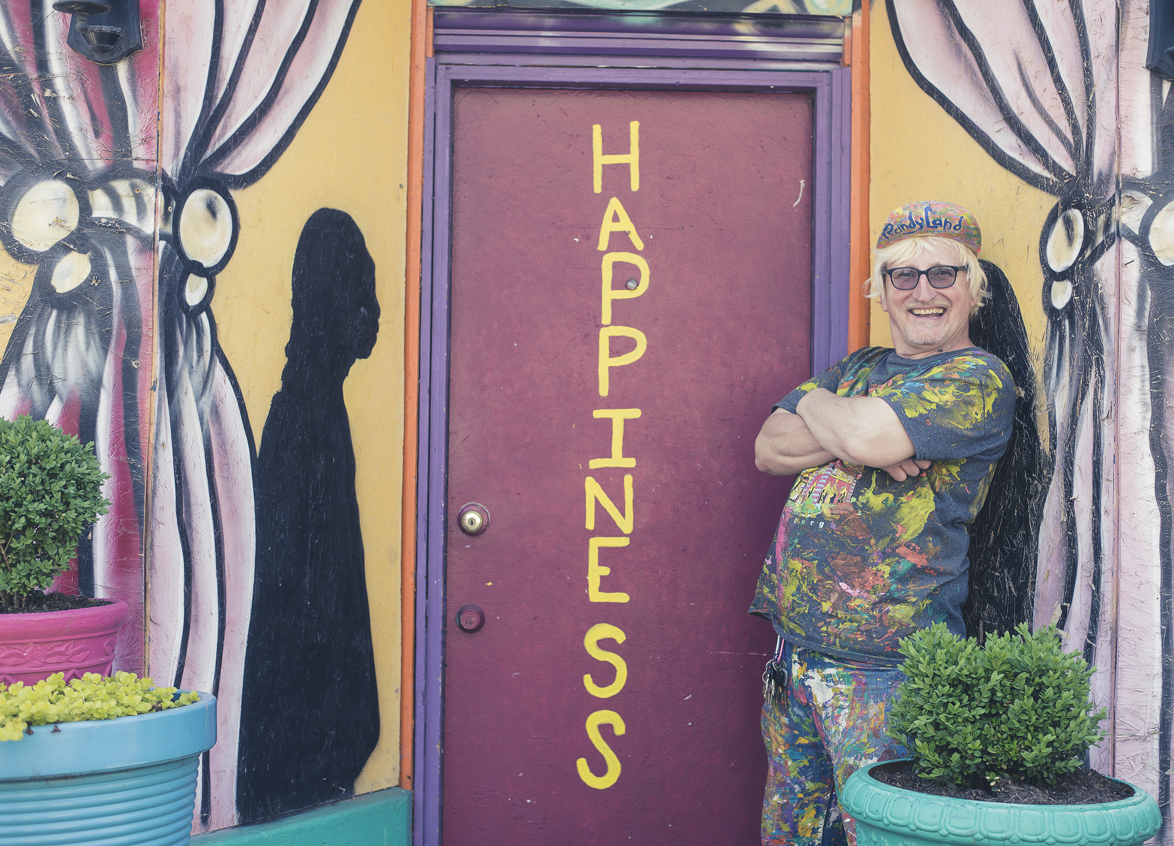 Randy, the creator behind RandyLand. His goal was to make his community brighter, cleaner and establish a place to live where the residents could be proud of their street.