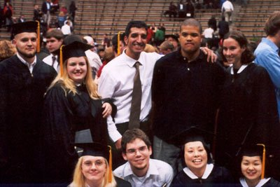 My 2002 graduating class, fellow design students and friends.