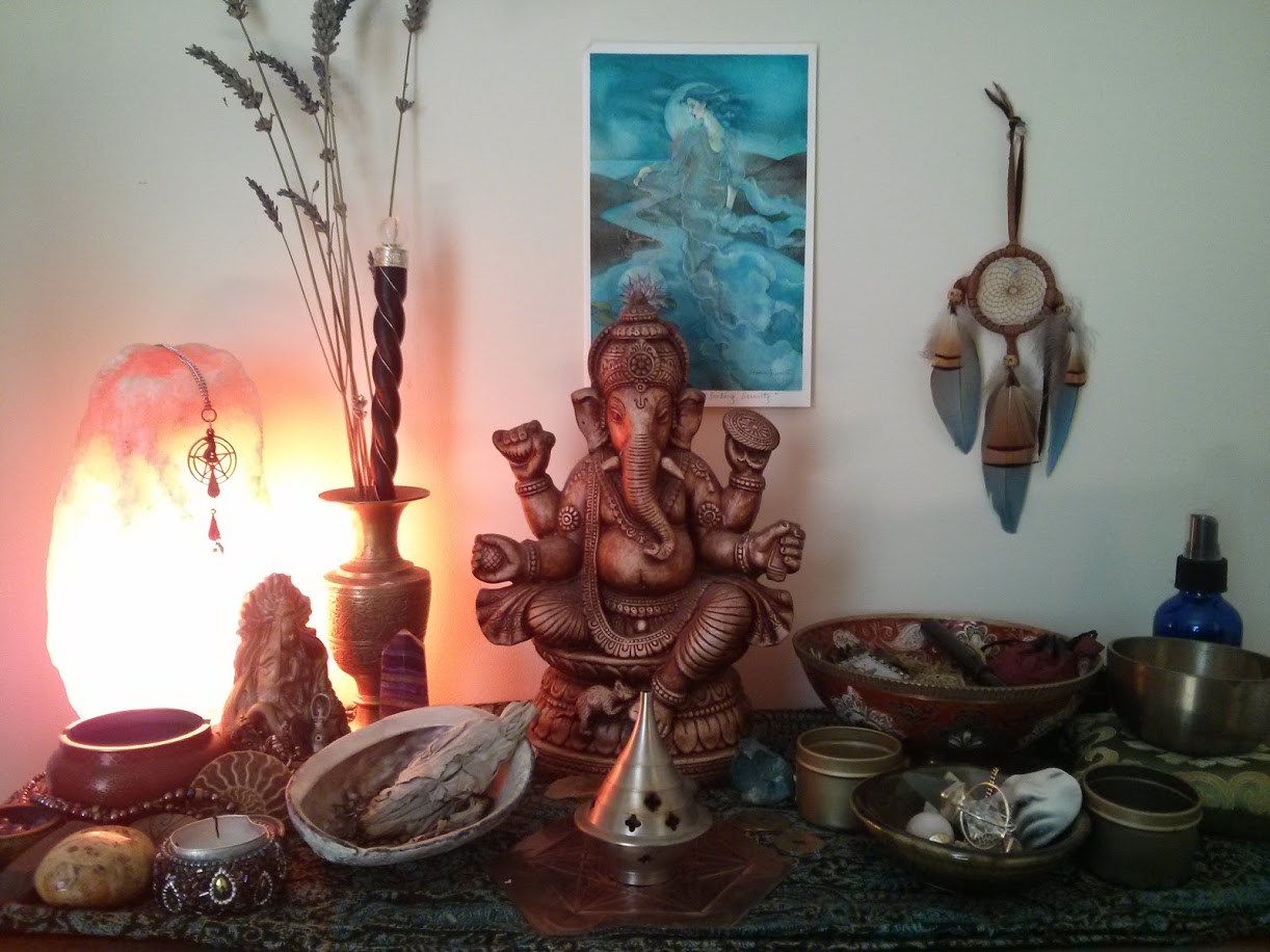 My home altar.