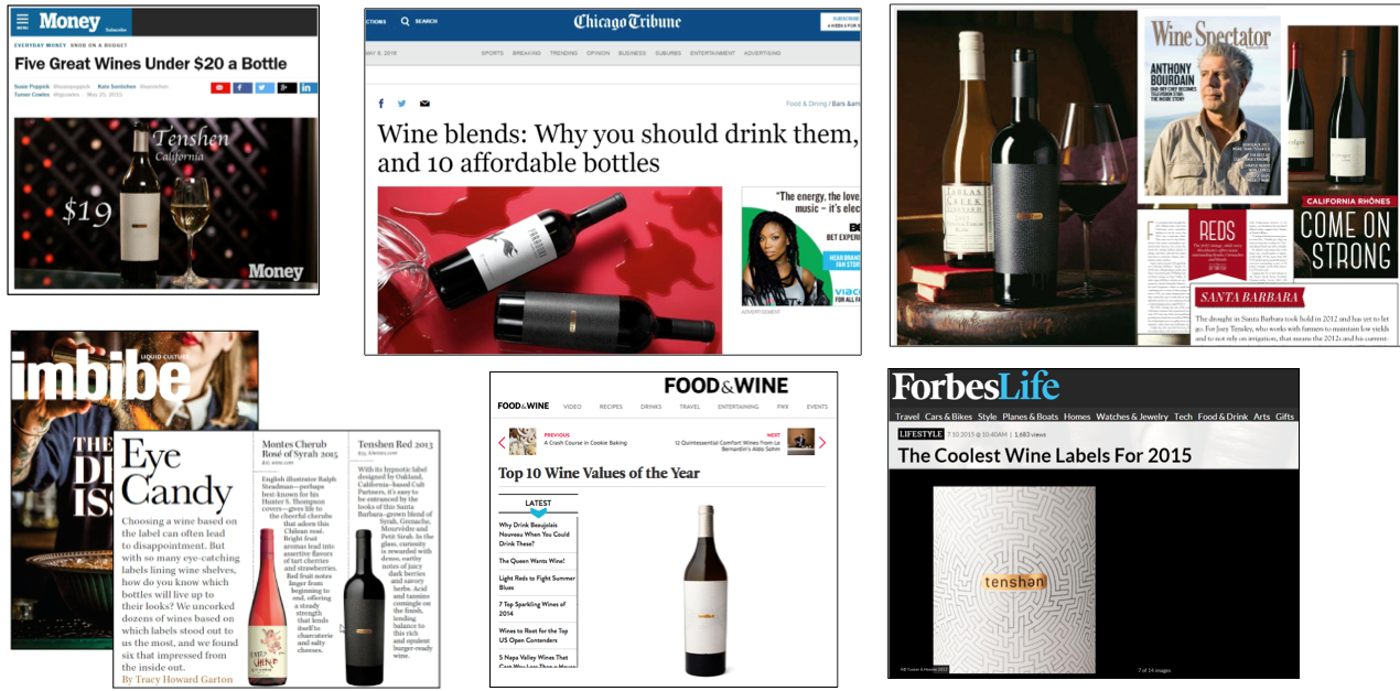 Results: Huge buzz and awareness for wine and winemaker