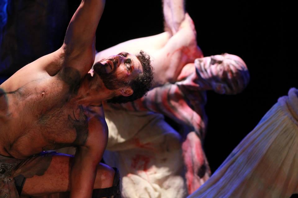 """John Farmanesh-Bocca and Jones Welsh in """"Hercules Furens"""" (2013)"""
