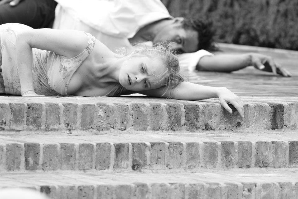 "Alina Bolshakova and Deus Xavier in ""Falling"" (2013)"
