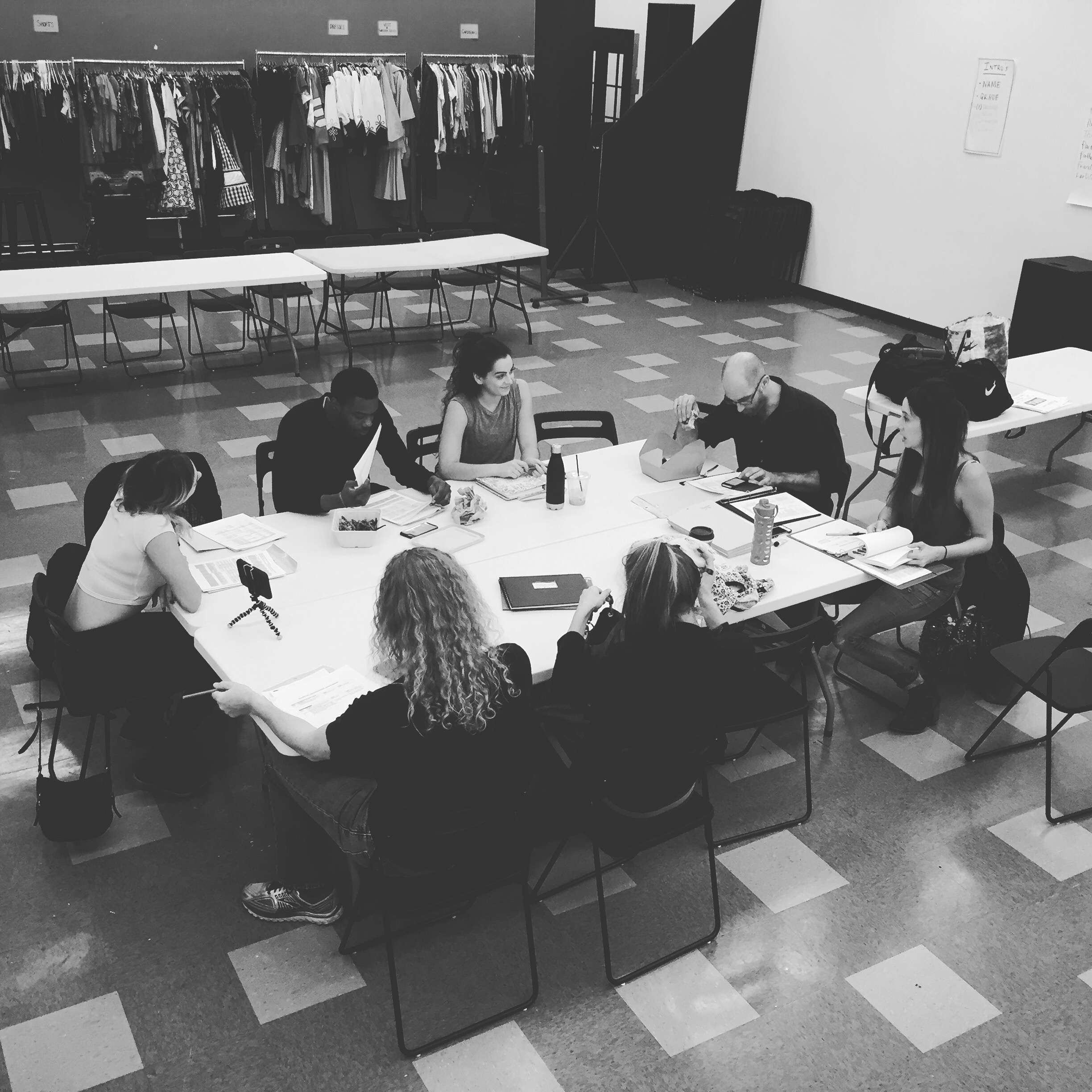 """November 10th, 2016 - """"Paradise Lost"""" First Read-Through"""