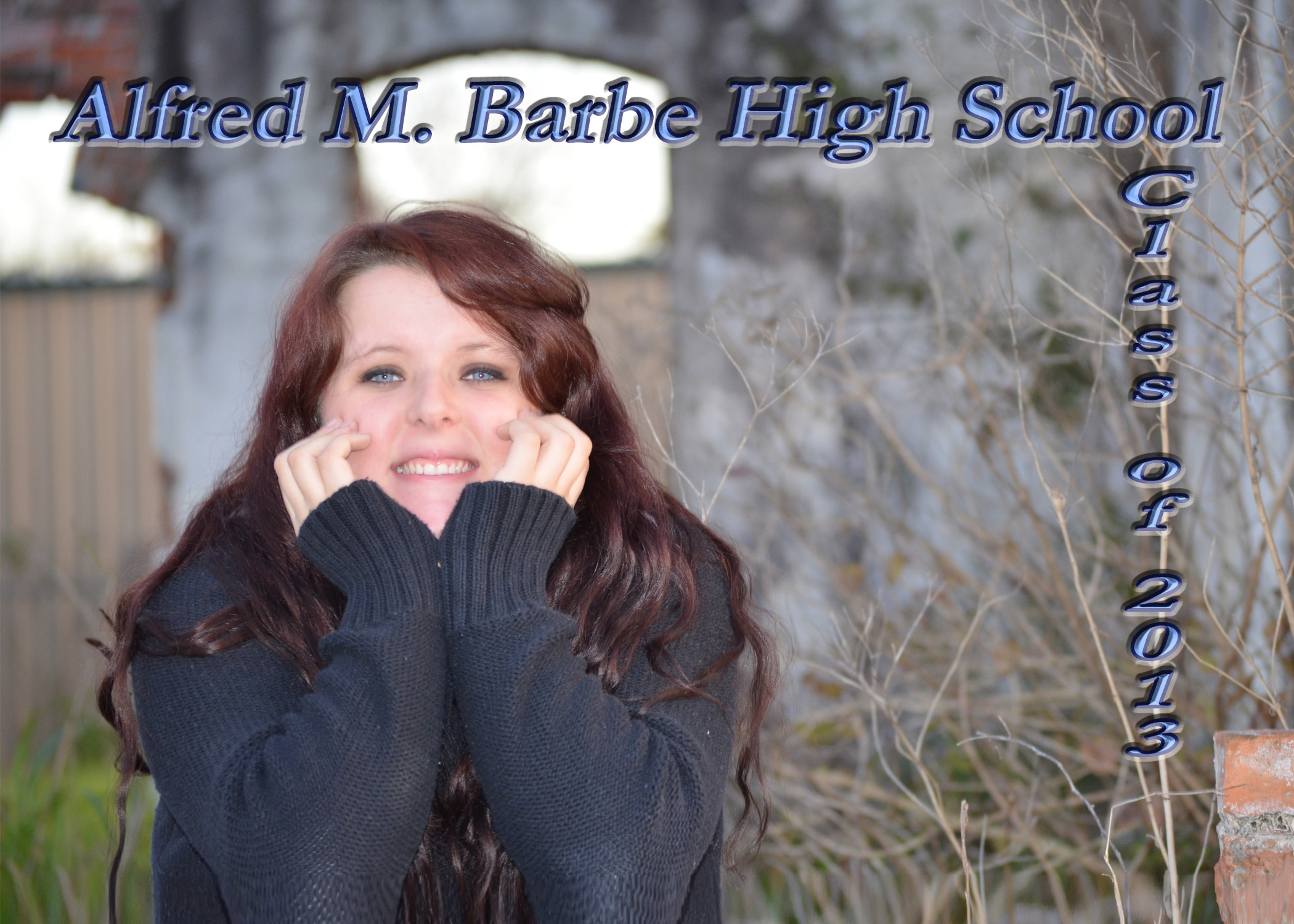 High School Senior Graduation Card -Post Card H FrontCover113.jpg