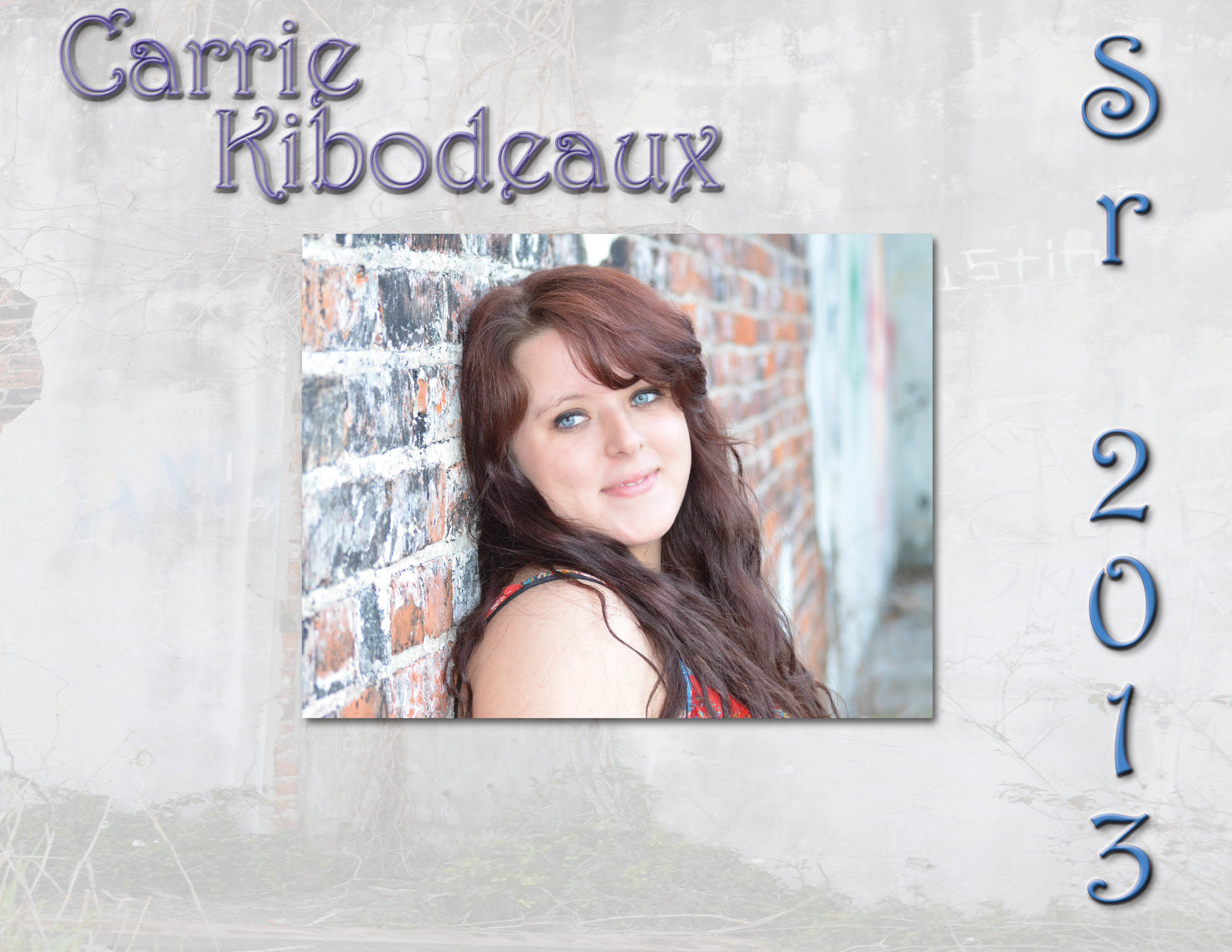 High School Senior Photo Book Cover -Sr2013-Carrie.jpg