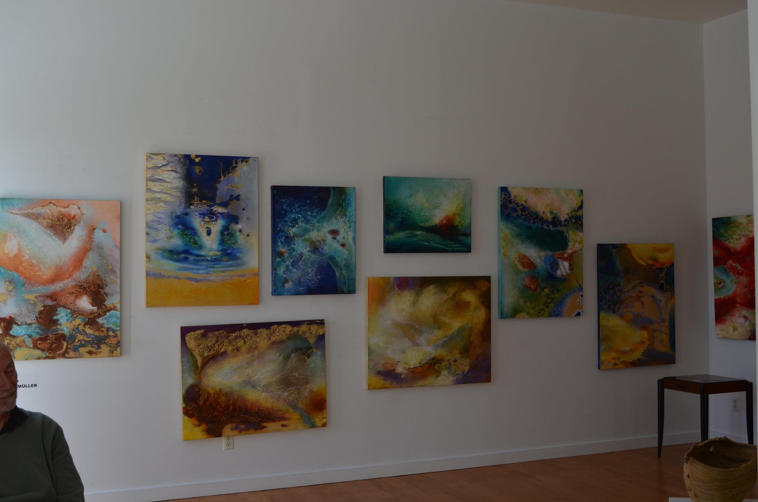 Show at Diana Felber Gallery, September/October 2016