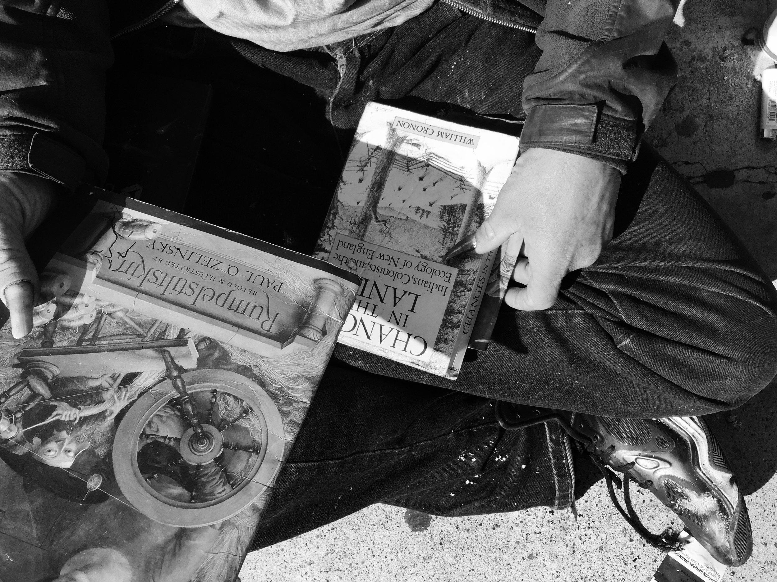 The homeless reader, SF