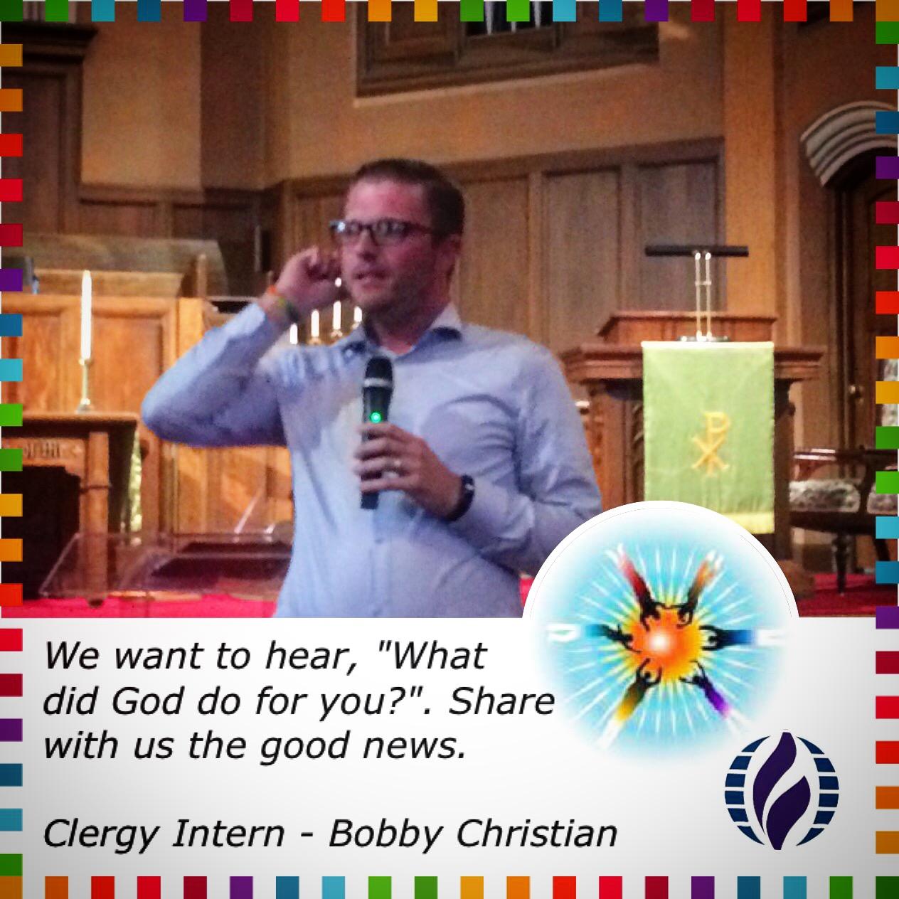 Bobby Christian  - Intern