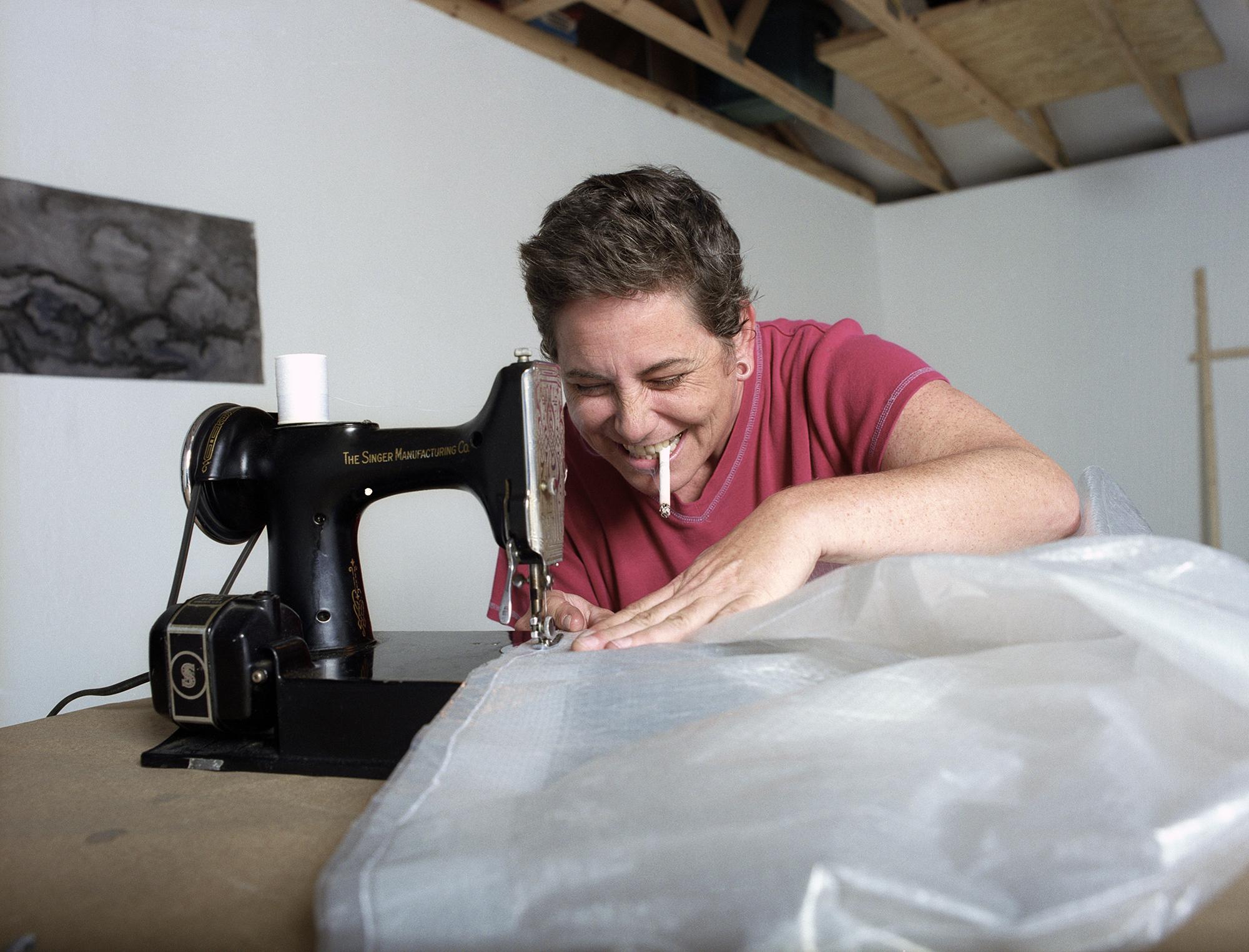 Martha in her Studio, 2007