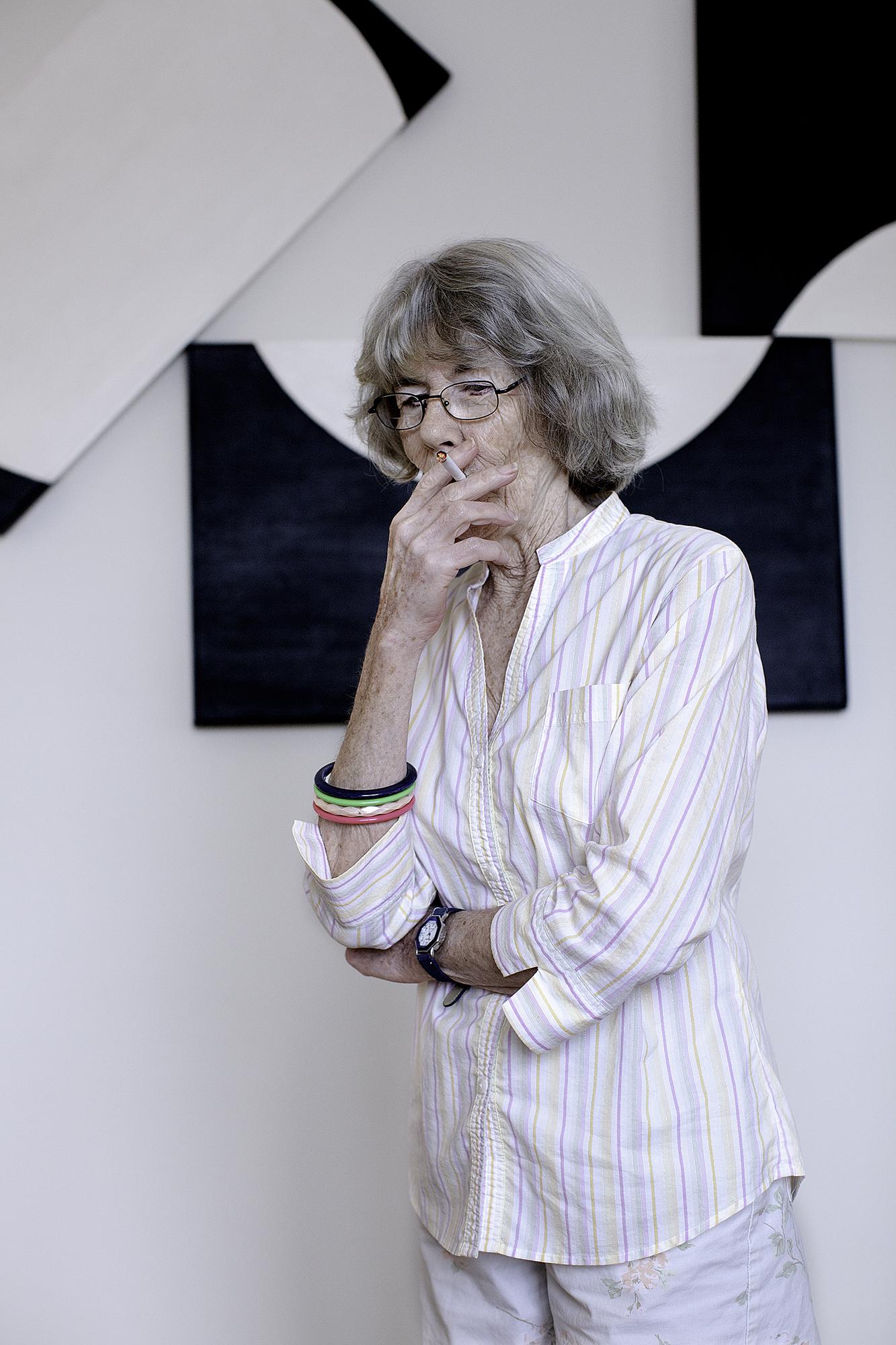 Patti in her Condo, 2012