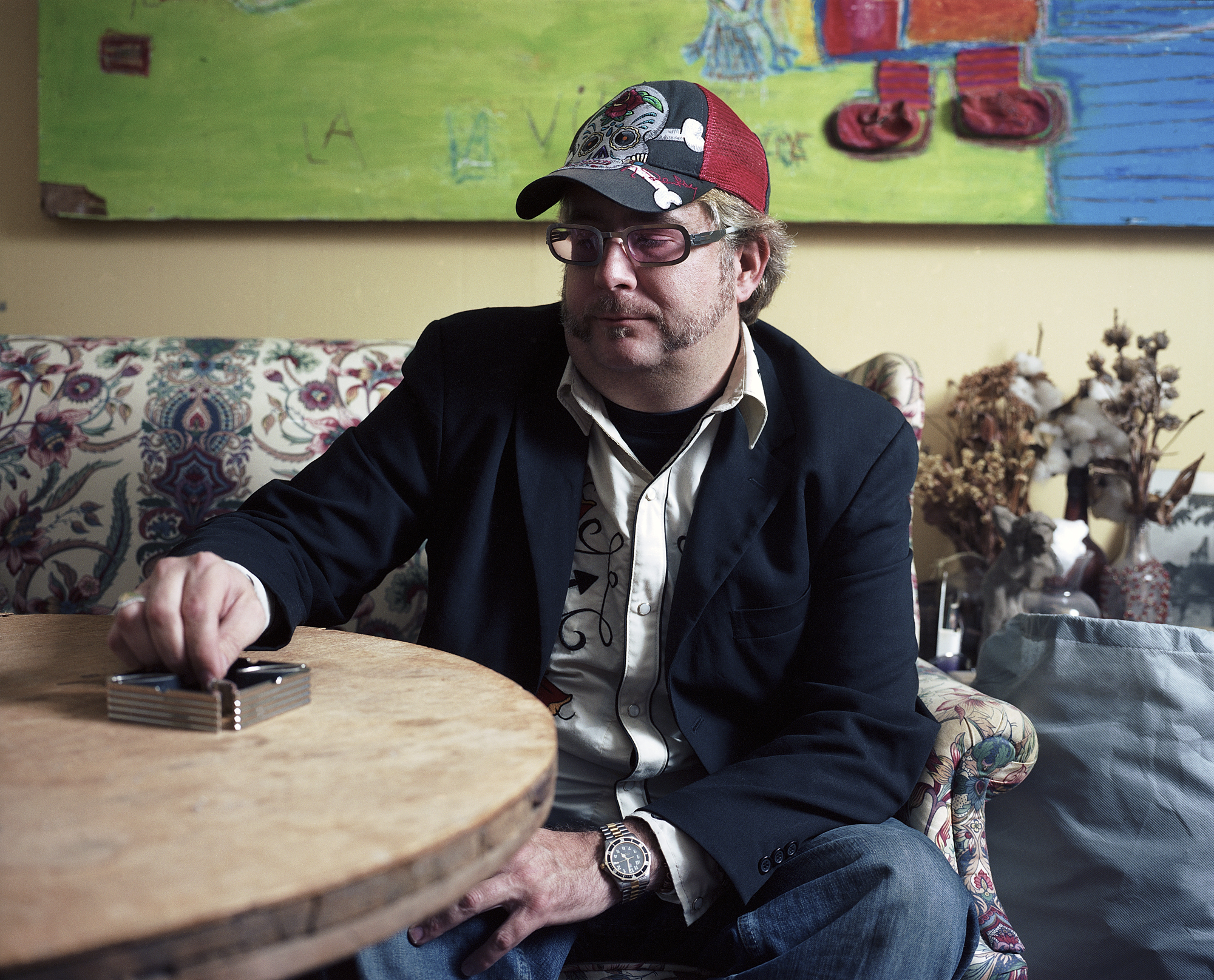 Will in his Living Room, 2006