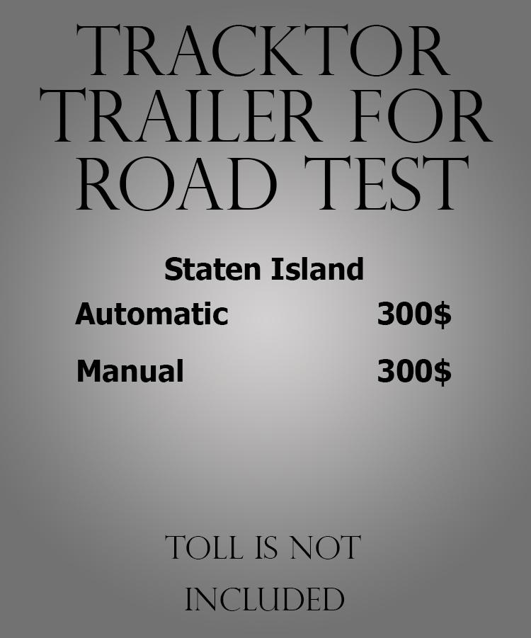 Tracktor trailer for road test Staten Island.jpg