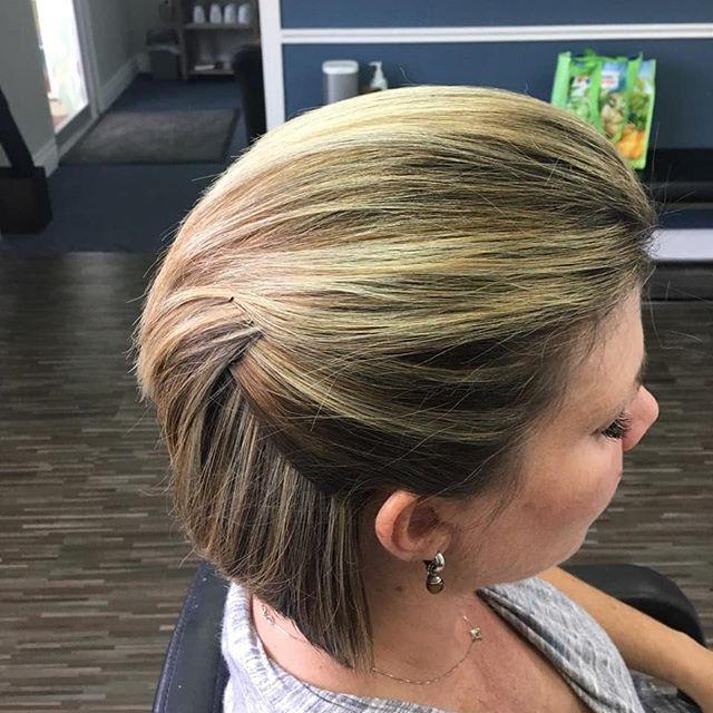 Sleek and stylish updo by Kristi #salon101rocks #sleekupdo #volume