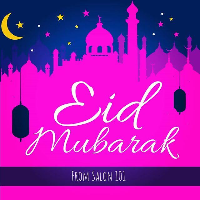 Eid Mubarak from Salon 101!
