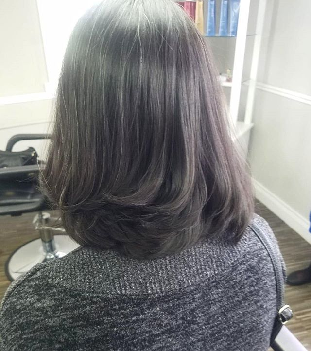 Bouncy bob styled and cut by Jovonne! #cutandstyled #hairenvy #salon101rocks