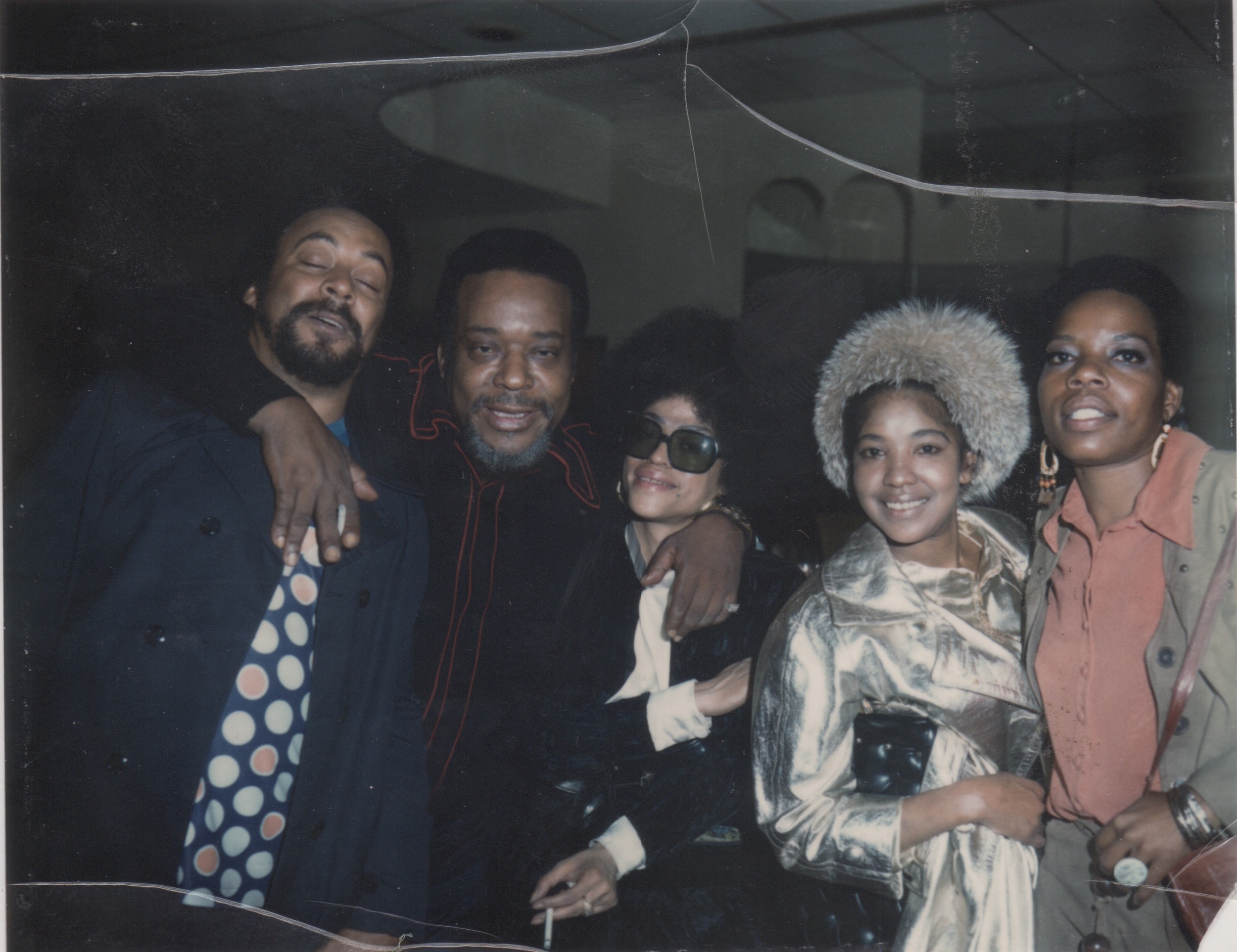 Ajaramu, Gene Ammons, Amina (far Right)