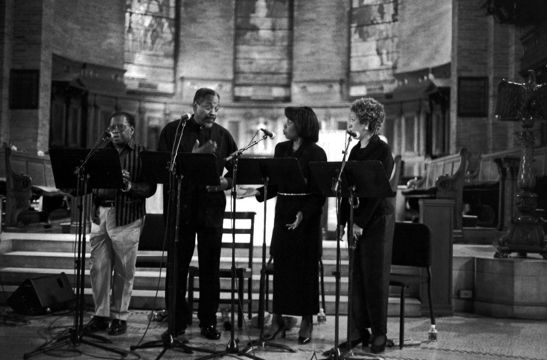 Vocal Quartet with Instrumental Trio