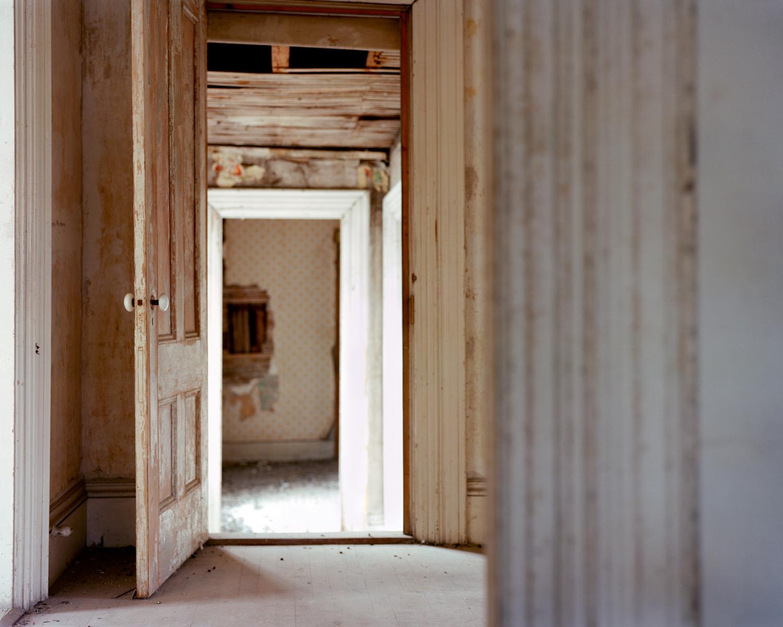 Abandoned House (door), Frankfort, ME