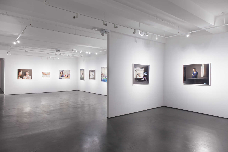 Installation view: Benrubi Gallery
