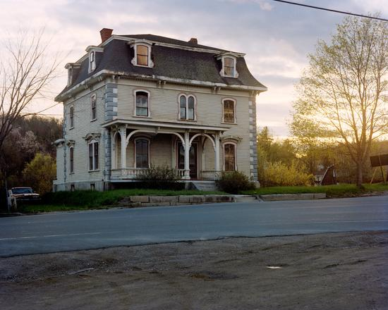 """Abandoned House, Frankfort, Maine (exterior)"" from the series Haunted House. Limited edition pigment print of 100. 8.5 x 11"" paper (image size 8"" x 10""). Signed and numbered. $150.00"