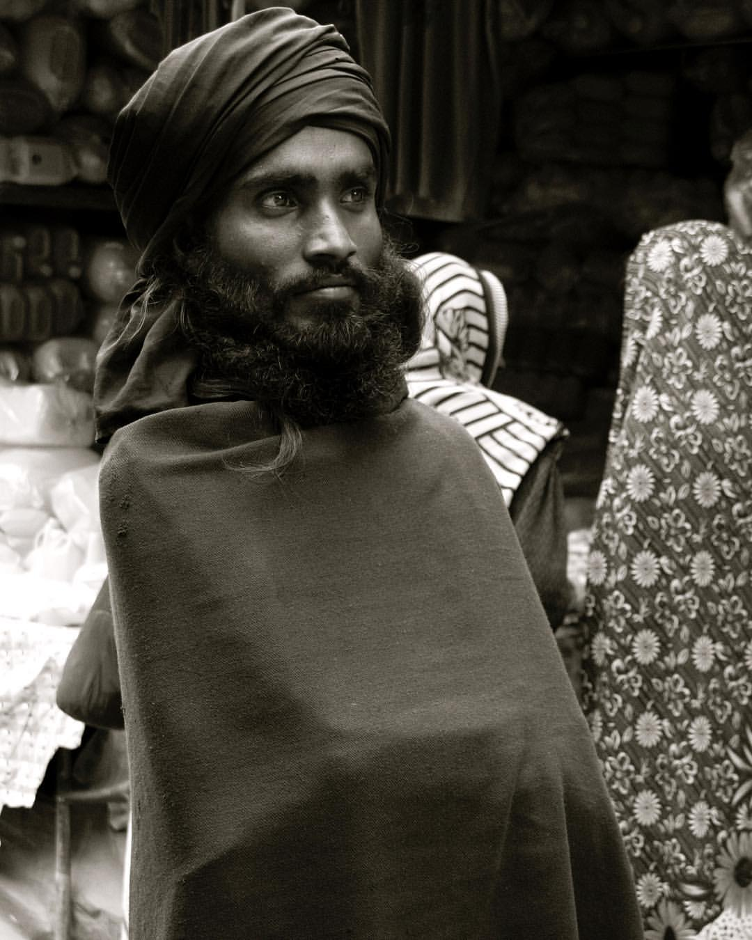 Searching for another photo I came across this image I took of a sadhu in the North Indian mountains. I remember this clearly.He saw me and posed for about 3 seconds amidst the chaos. A memory and moment I wouldn't have had without a camera. #i❤️photography #throughmylens #travellingdays #nostalgia #india #byronbayphotographer  (at Rishikesh, Uttarakhand)