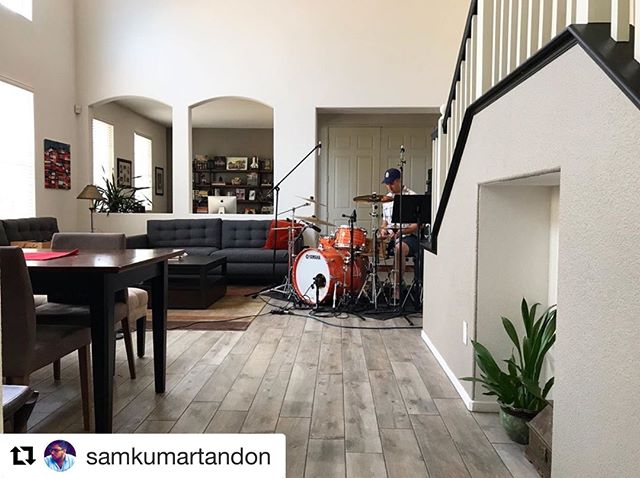 #repost from our bud @samkumartandon Always a joy being in the studio with you! Can't wait to share what's cooking!  #hemustincrease #newmusicfriday #spiritandtruth #newalbum #worshipmusic #jesusmusic