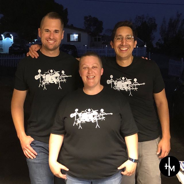 Super excited!! We can't wait to be worshiping @riveroakgrace this weekend and we finally got some band T-shirts 🙌🏽 link in bio for tickets if your in Oakdale this weekend.  #hemustincrease #bandshirts #christian #worshipmusic #bff