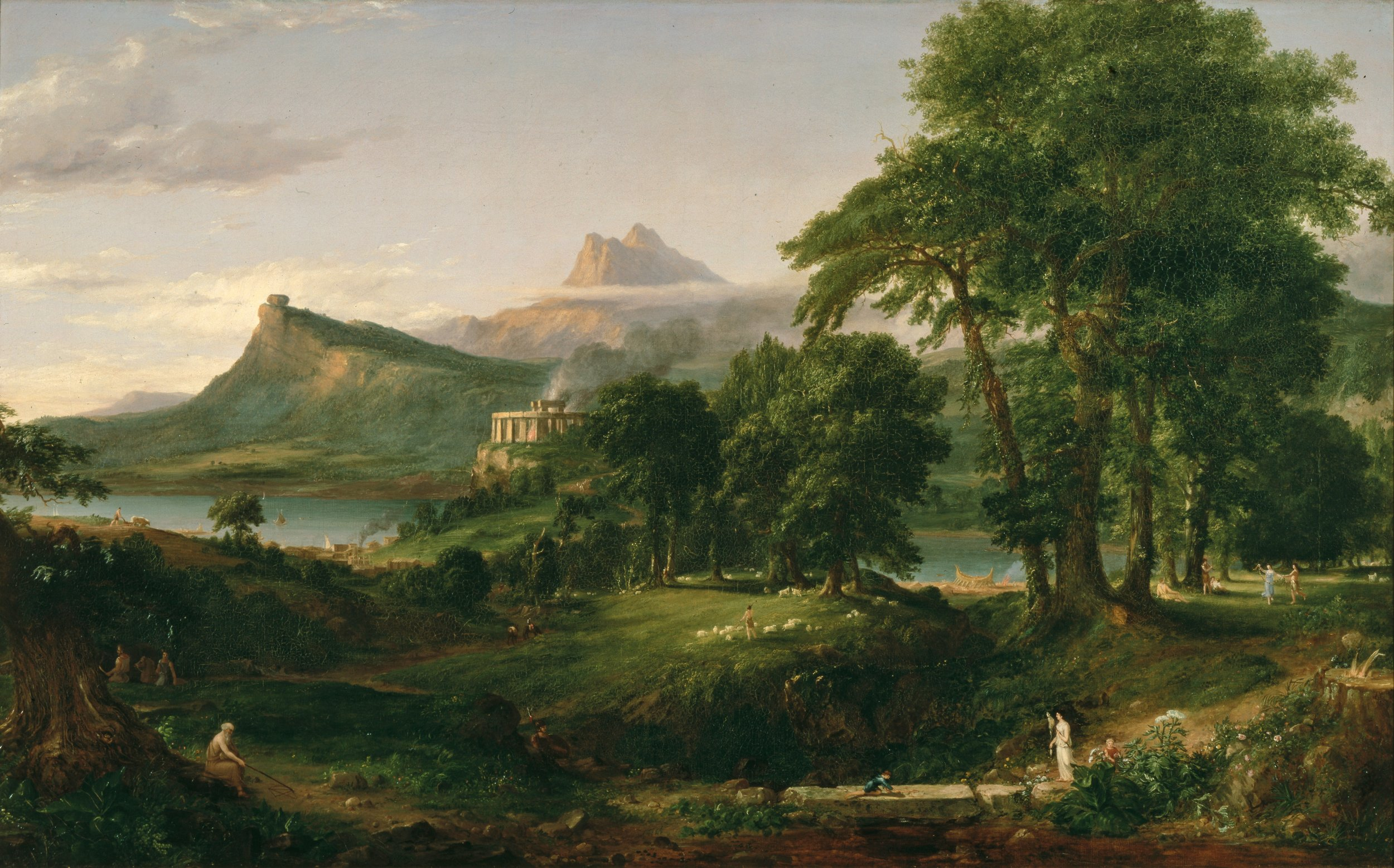 Thomas Cole, The Course of Empire - Savage State, 1834