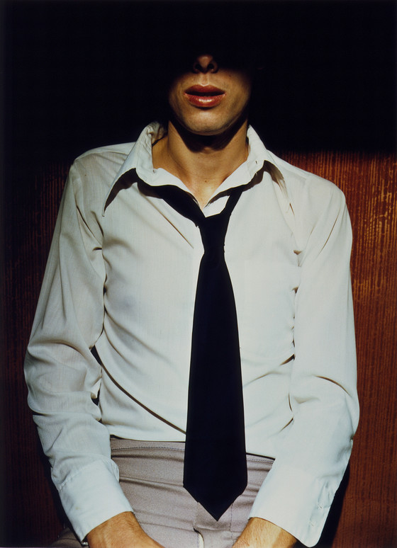 Jo Ann Callis, Man in Tie, 1976                                         Courtesy of ROSEGALLERY, Santa Monica