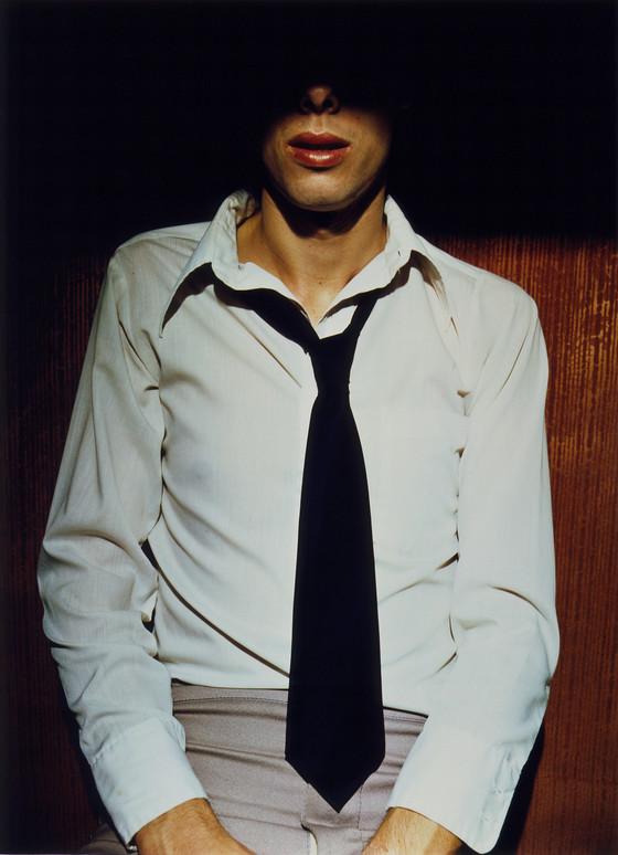 Jo Ann Callis, Man in Tie, 1976                     Courtesy of ROSEGALLERY, Santa Monica