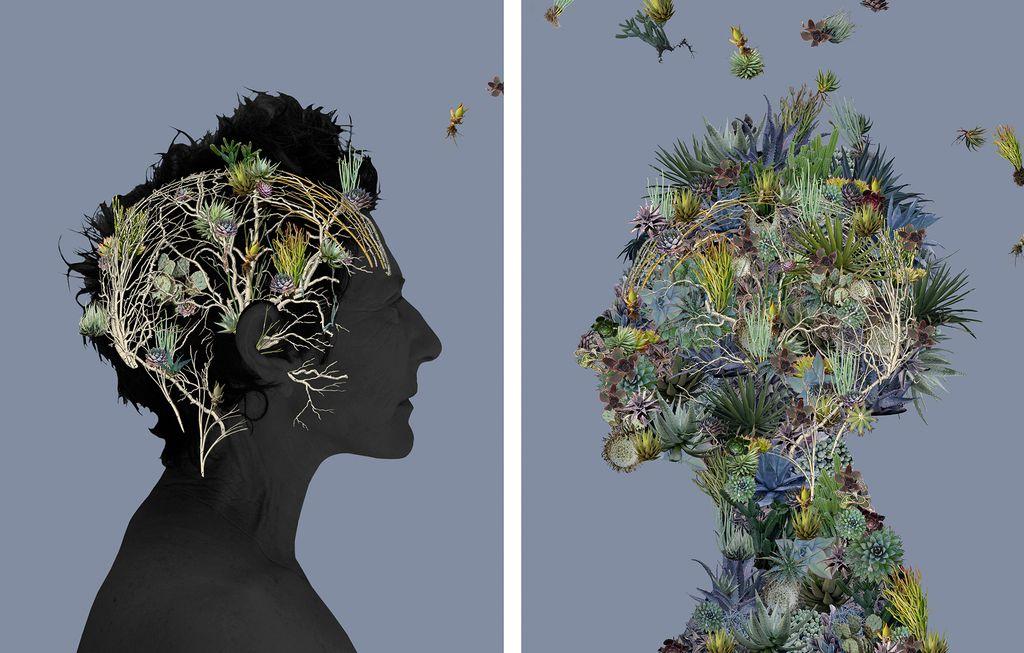 Sandra Klein, Creative Growth, Noisy Brain Series