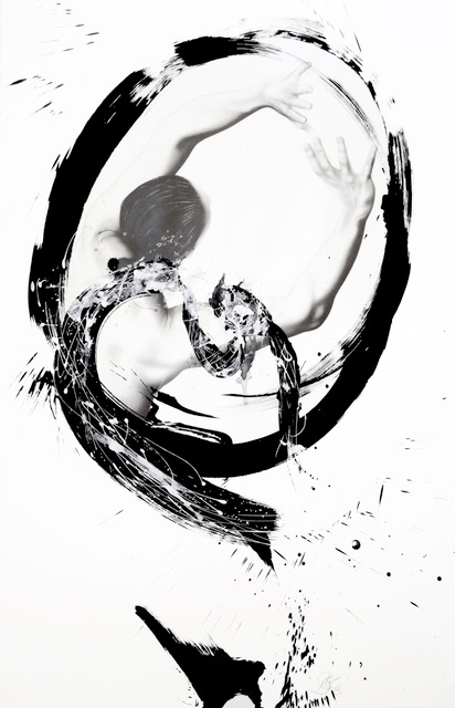 Momentum,   Graphite and Sumi Ink on Paper, 2015  - Michele Benzamin-Miki  ,  CMATO's Featured Artist