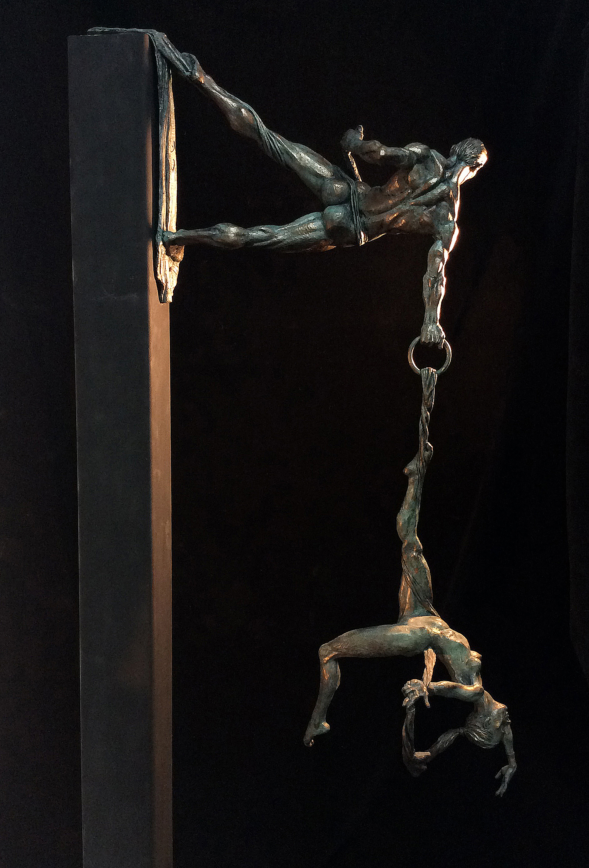 Suspend , Bronze, 2016    -Douglas Turner  ,CMATO's Contributing Artist