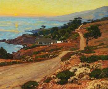 William Wendt, Old Coast Road