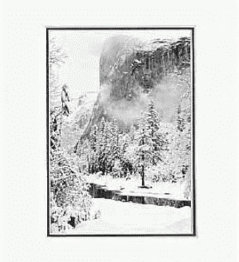 El Capitan, Winter (1950)