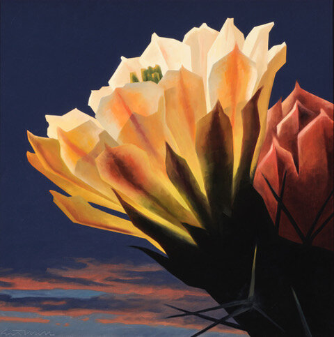 Ed Mell, Desert Bloom, Private Collection