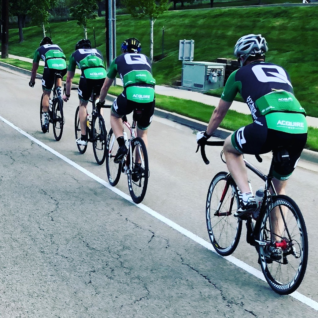 - ACQUIRE MED CYCLING CLUBAcquire Med cycling club was established in 2017 and consists of 35 riders from Utah, Idaho, and Arizona. We have a road bike club and a mountain bike club.Anyone can join Acquire Med Cycling Club. If you are interested in joining, please fill out the form to the right.
