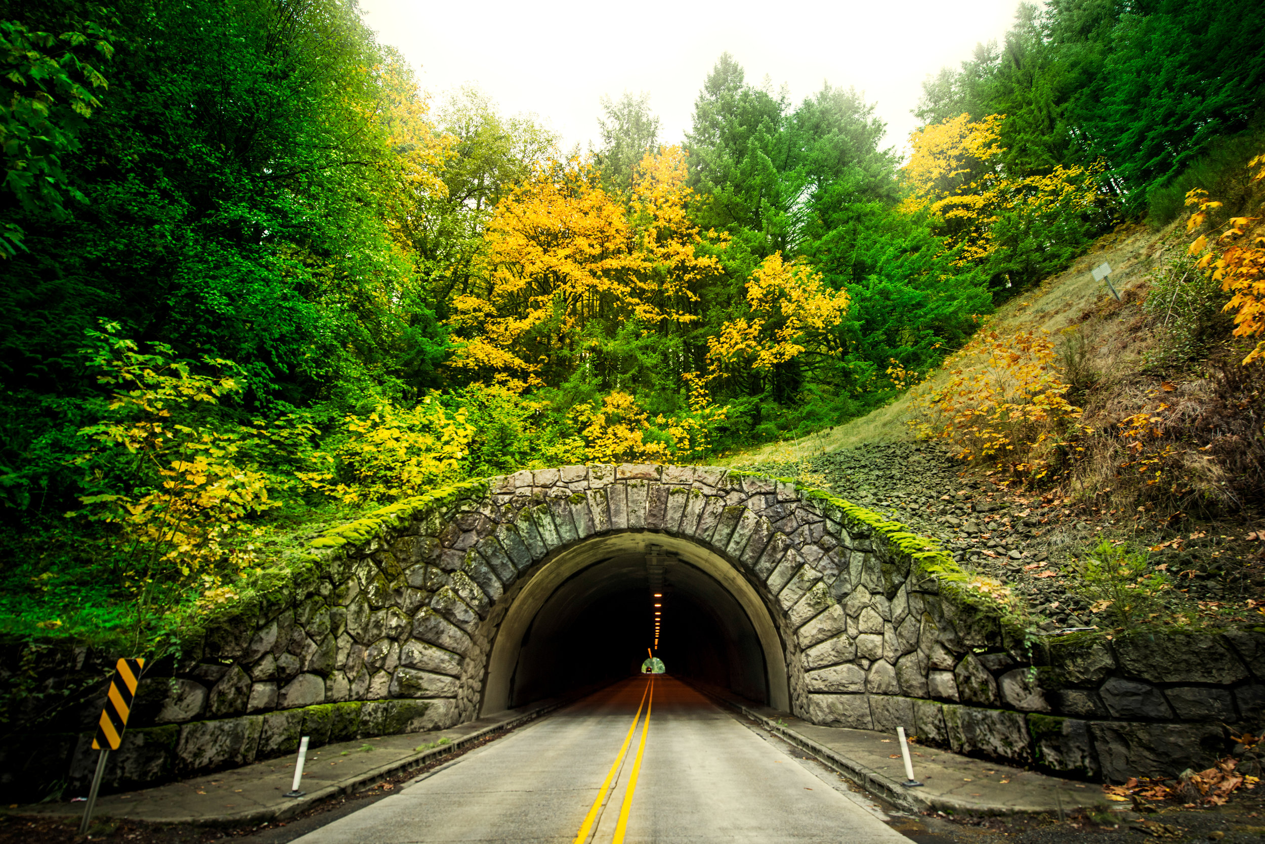 Tunnel on Highway 26