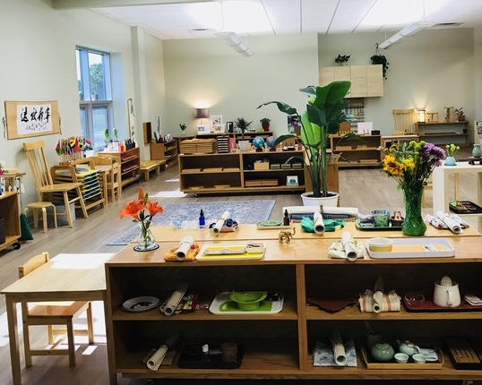 A picture of children's house environment