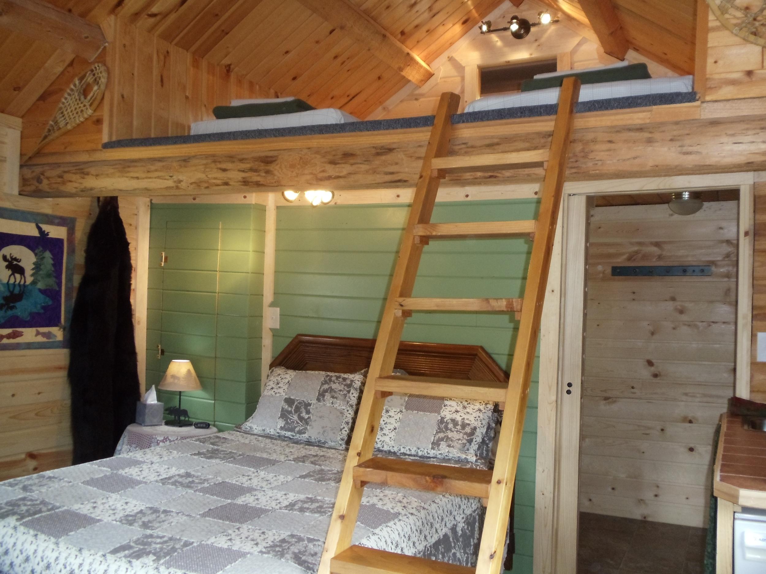 Cabin and Loft lights on.JPG