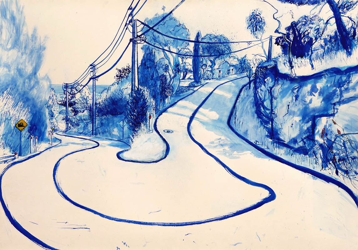 """Honourable Mention Prize, Andrew Stattmann  """"Power lines, trees and shrubbery"""""""