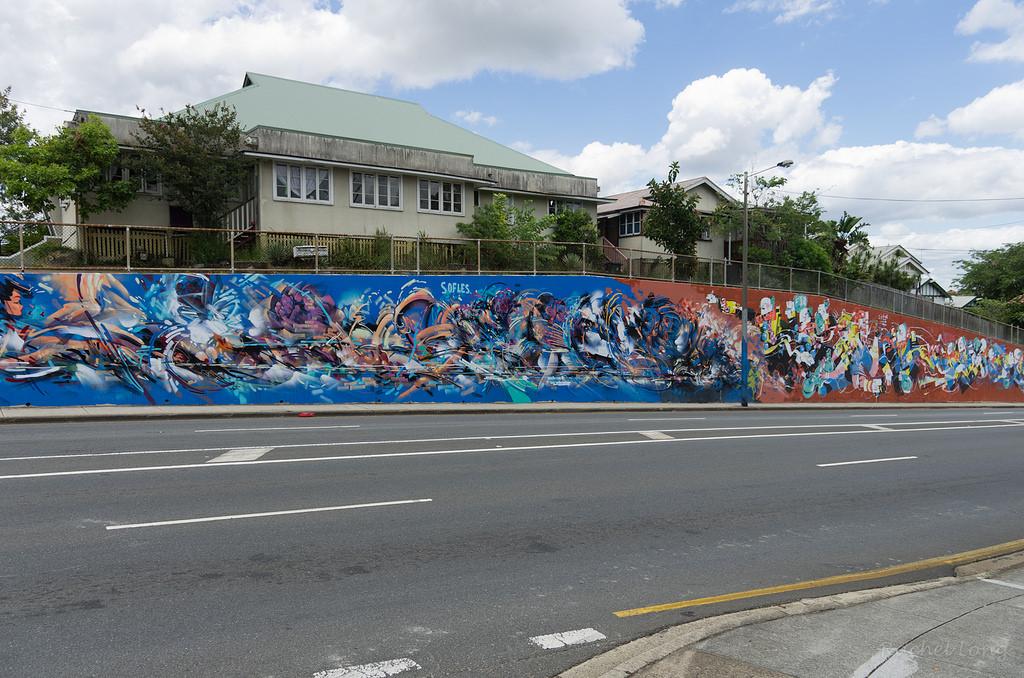 Milton Road, Brisbane (BCC Walls & Colours Project) 2014
